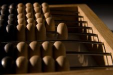 Free Obsolete Wooden Abacus Stock Image - 8837441