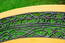 Free Welcome Sign Royalty Free Stock Photos - 8837458
