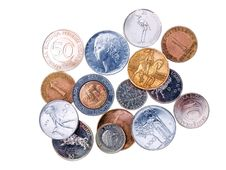 Free Coins  Before Euro Stock Image - 8837961