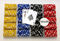 Free Racks Of Poker Chips Stock Photography - 8841592