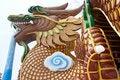 Free Huge Dragon Sculpture Stock Image - 8846441