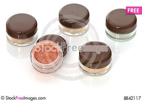 Free Make Up-jars Royalty Free Stock Photography - 8842117