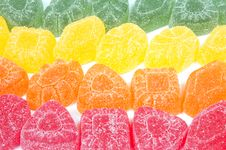 Free Multicoloured Gumdrops Background Stock Photos - 8840023