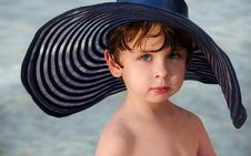 Free Boy In A Hat Royalty Free Stock Image - 8840656