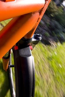 Free Mountain Biking  Motion Royalty Free Stock Image - 8841596