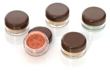 Make Up-jars Royalty Free Stock Photography