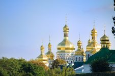 Free Golden Church Domes Stock Images - 8842624