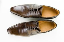 Free Leather Male Shoes Royalty Free Stock Photo - 8842655