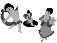 Free Dancing Children Stock Photo - 8843910