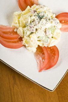 Free Potato Salad Royalty Free Stock Photos - 8844418