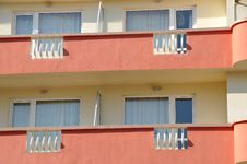 Free Colorful Hotel Stock Photography - 8845332