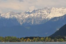 View From Zell Am See Stock Photo