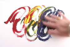 Free Fingerpainting Stock Photo - 8847000