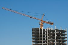 Free The Elevating Crane Stock Image - 8847181