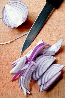Free Red Onion Royalty Free Stock Photography - 8847237