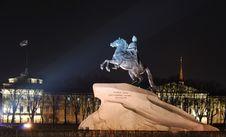 Free Saint-Petersburg In The Nighttime Stock Photos - 8847453