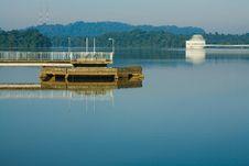 Upper Peirce Reservoir Stock Photography