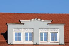 Free Red Roof And Window Royalty Free Stock Photography - 8847497