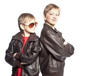 Free Brothers Posing Stock Photos - 8848193