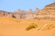 Free Mountains In Akakus, Lybia - Africa Royalty Free Stock Image - 8848366