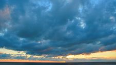 Free Clouds Above The Ocean Royalty Free Stock Photo - 88414115