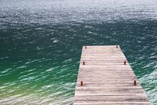 Free Jetty In Water Stock Photography - 88491022