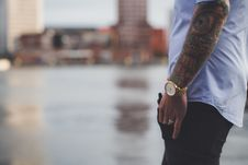 Free Man With Tattoos Royalty Free Stock Photography - 88491107