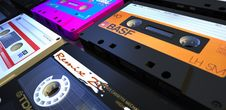 Free Audio Cassette Tapes Stock Images - 88491354