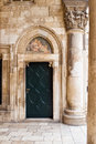 Free Door  With  Fresco Royalty Free Stock Image - 8850506