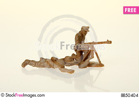 German toy soldier Stock Photo