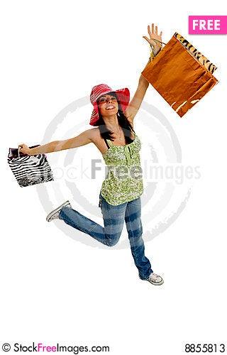Free Shopping Fun Stock Photos - 8855813