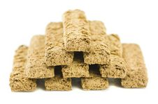 Free Bran Biscuits - Pyramid -4 Stock Photography - 8850522