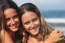 Free Twins Smiling Royalty Free Stock Photos - 8850848
