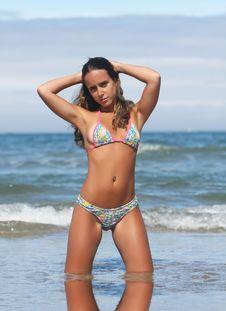 Free Beautiful Girl In The Beach Stock Photos - 8850943