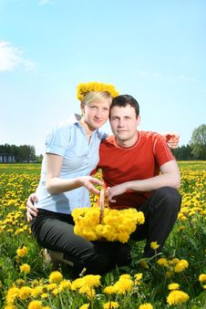 Free Love In Flowers Royalty Free Stock Photography - 8851627