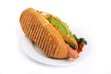 Free Hotdog Royalty Free Stock Photos - 8854348