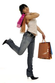 Free Let S Go Shopping Royalty Free Stock Photography - 8855707