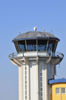Free Airport Tower Royalty Free Stock Photography - 8856127