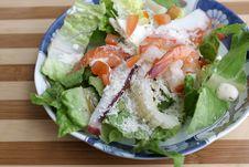 The Mediterranean Salad Stock Photos