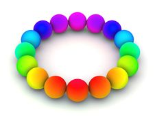 Free Colorful Spheres Royalty Free Stock Image - 8856636