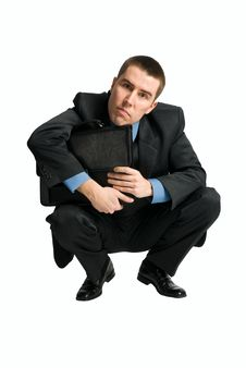 Free Businessman Looking Directly To The Camera Stock Photos - 8856873
