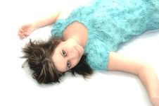Free Brunette With Big Brown Eyes Stock Images - 8857884