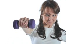 Free Fitness Girl Stock Images - 8857964