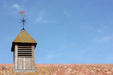 Free Old Victorian Farm Roof Stock Photography - 8858582