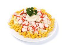 Free Salad Royalty Free Stock Photography - 8859337