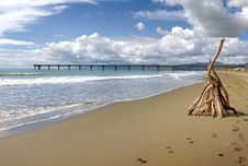 Free New Brighton Beach Christchurch NZ Royalty Free Stock Images - 88559699