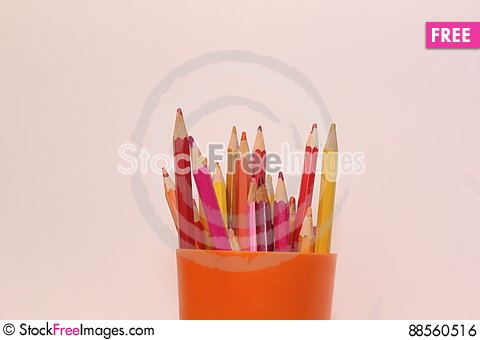 Free Color Pencils Picture Royalty Free Stock Image - 88560516