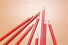 Color Pencils Picture Royalty Free Stock Photography