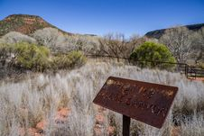 Free Woods Canyon Trail No. 93 Stock Photography - 88561142