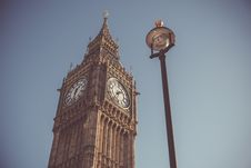 Free Low Angle View Of Clock Tower Stock Image - 88563791